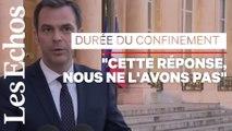 """""""Tant que le confinement devra durer, il durera"""", affirme Olivier Véran"""