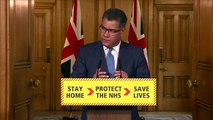 Coronavirus- Rescue flights for stranded Britons - UK Government Briefing 24 Update