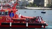 Spanish coast guard rescues 37 migrants in the Atlantic