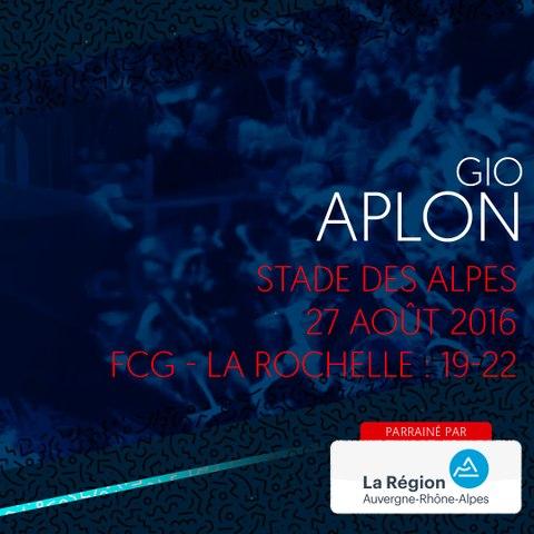 Video : Video - L'essai de Gio Aplon contre la Rochelle en 2016