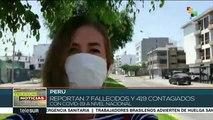 Perú: reportan 7 fallecidos y 419 contagiados por COVID-19
