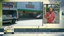 Brasil: 26 ciudades cierran comercios para evitar propagar COVID-19