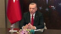 Cumhurbaşkanı Erdoğan bilim kurulu üyeleriyle telekonferans bağlantısı yaptı