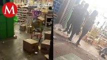 Delincuentes aprovechan emergencia por Covid-19 para saquear tiendas