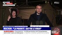 """Hôpital: Emmanuel Macron annonce """"un plan massif d'investissement et de revalorisation des carrières"""" à l'issue de la crise"""