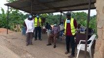 Coronavirus : constat de la fermeture de la frontière  avec le Ghana.