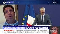 """Selon le président du MEDEF, """"il faut que l'on réfléchisse à ce que sera la sortie de crise"""""""