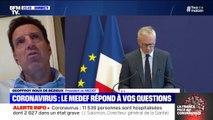 """Geoffroy Roux de Bézieux (Medef): """"On ne peut pas être au chômage partiel et travailler"""""""
