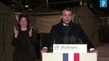 """Coronavirus : Macron annonce une prime et des """"revalorisations de carrières"""" pour les soignants"""