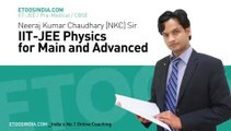 Capacitance by NKC Sir part 01 (top etoos kota faculty)