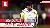 Nico Castillo dejó el hospital y seguirá rehabilitación en casa