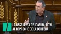 """""""Yo no te he interrumpido ni una sola vez"""", la respuesta de Baldoví al reproche en el Congreso"""