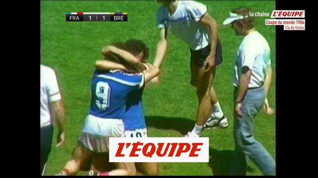 Les temps forts de France - Brésil - Foot - CM 1986