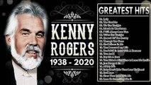 Kenny Rogers Greatest Hits Playlist  Best Songs Of Kenny Rogers 2020  Kenny Rogers 1938-2020