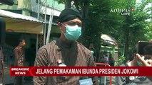 Ucapan Bela Sungkawa Ganjar Untuk Ibunda Jokowi