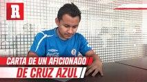 Carta de un aficionado de Cruz Azul a su equipo