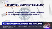 Qu'est-ce que l'opération militaire Résilience, lancée par Emmanuel Macron mardi soir ?