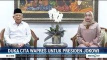 Duka Cita Wapres untuk Presiden Joko Widodo