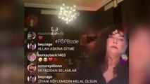 Canlı yayını kapatmayı unutan şarkıcı Sıla'nın hareketi sosyal medyanın gündeminde