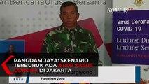 Pangdam Jaya: Skenario Terburuk Ada 8.000 Kasus Corona