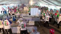 Argentina- New Guinness world record - 11,000 pizzas made in just 12 hours!