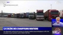 Coronavirus: la colère des chauffeurs routiers, qui continuent à travailler