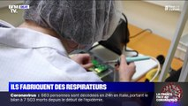 Coronavirus: dans les coulisses d'une usine fabriquant des respirateurs