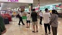 行动管制令延长至4月14日  商场人潮受控