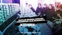 Makam Ibunda Jokowi Disandingkan Dengan Ayahanda