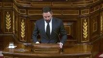 Abascal exige a Sánchez el cese de Iglesias y el 155 para destituir a Torra