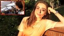 Esnafa moral vermek için pazara giderek şarkı söyleyen genç kız, sosyal medyada alkış topladı