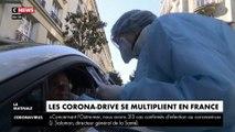 Coronavirus : les dépistage-drive se multiplient en France