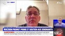"""Coronavirus: le collectif Inter-hôpitaux reste """"très prudent"""" face aux annonces d'Emmanuel Macron"""