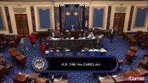 El Senado de EE.UU. ratifica el mayor estímulo económico de la historia del país