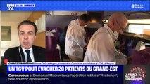 """Patients transférés par TGV: le maire d'Angers Christophe Déchu considère qu'il s'agit """"d'une solidarité naturelle et nécessaire"""""""