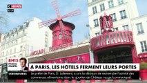 Coronavirus : les hôtels ferment leurs portes à Paris