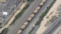 États-Unis : le déplacement de centaines de chars d'assaut fait naître des théories du complot