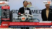 LIVE: Perkembangan terkini Covid-19 oleh Kementerian Kesihatan
