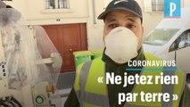 Coronavirus : Au travail, « On a la peur au ventre » affirme un éboueur