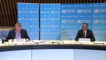 World Health Organization holds briefing on the coronavirus pandemic