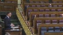 El Congreso autoriza a Sánchez a ampliar el estado de alarma