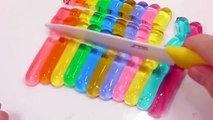 Soft Stick All Colors Pudding Jelly DIY Learn Colors Slime Foam Clay Glitter Ice Cream Toys For Kids