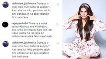 Shehnaz Gill को Sidnaaz Fans ने किया Boycott, Fans ने कहा हुम्हे Credit कभी नहीं मिलता ! | FilmiBeat