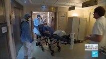 Coronavirus en France : Les hôpitaux d'Île-de-France au bord de la rupture