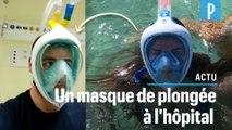 Coronavirus : un masque de plongée Decathlon pourrait aider les soignants en Italie