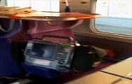Coronavirus: A bord du TGV médicalisé parti du Grand Est pour les Pays de la Loire