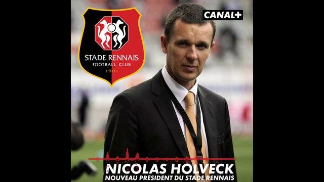 Itw de Nicolas Holveck, nouveau président du Stade Rennais