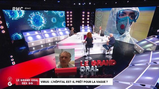 Le Grand Oral de Philippe Juvin, chef du service d'urgence à l'hôpital Georges-Pompidou - 26/03