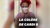 Cardi B dénonce toutes les célébrités testées au coronavirus