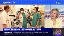 231 décès en 24h, 1 331 morts au total - 26/03